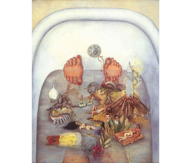 """Frida Kahlo and """"What the Water Gave Me"""""""